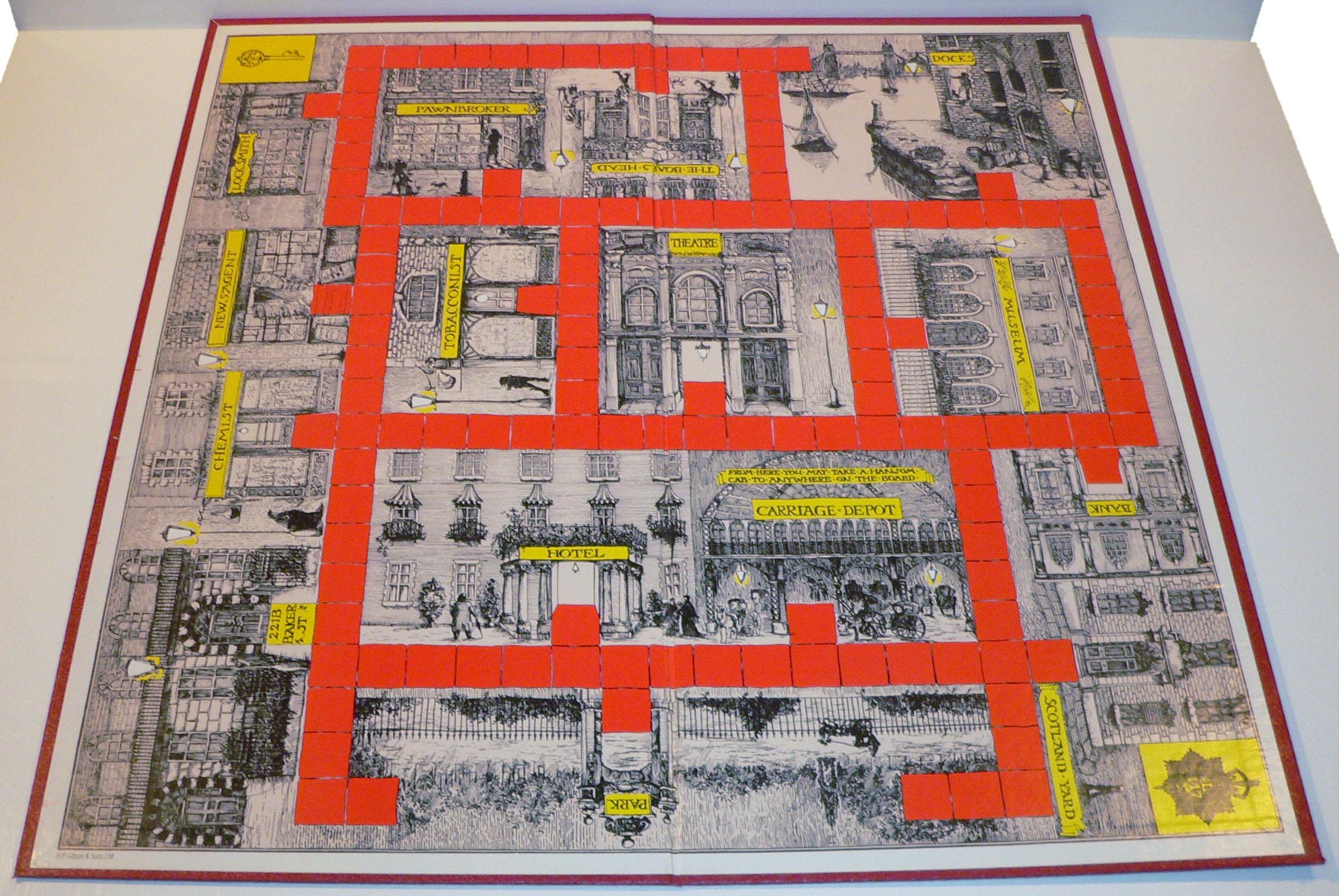 221b baker street game rule book